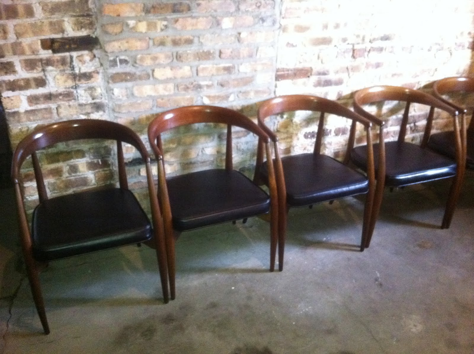 Lawrence Peabody For Richardson Nemschoff Library Chairs