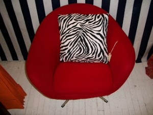 Red Mod Chair