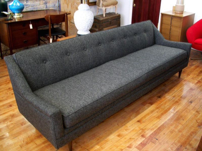 Ordinaire This Fully Refurbished 8 Foot Mid Century Modern Sofa Was Recently Sold. We  Like This Clean, Adult Style U0026 Source For These Exclusively.