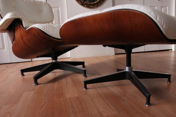Herman Miller Charles Ray Eames 670 671 Lounge Chair Ottoman Rosewood 63 Vintage