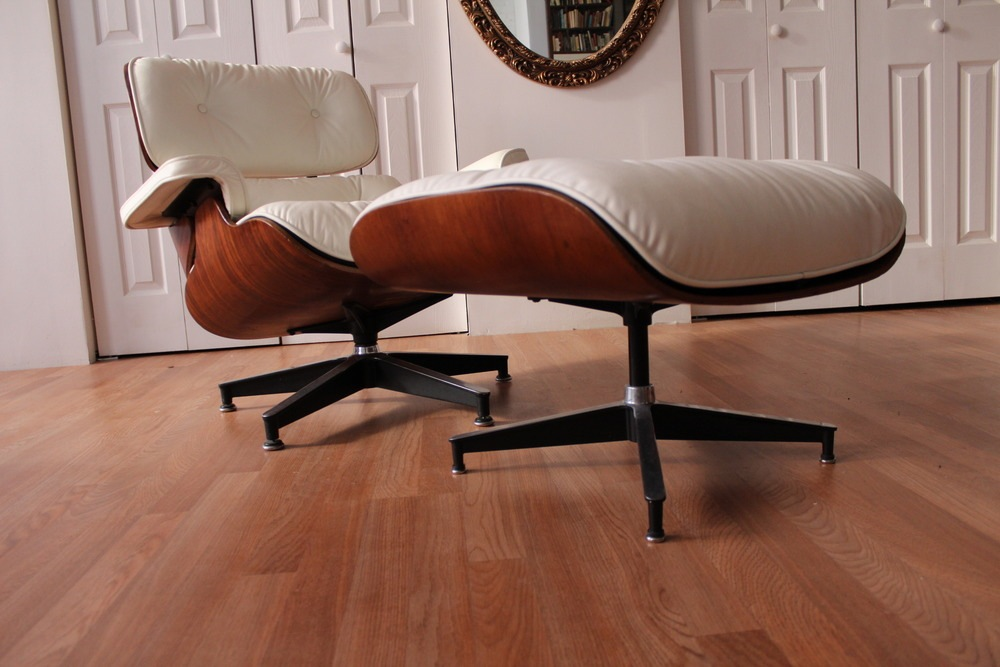 Miller Charles Ray Eames 670 671 Lounge Chair Ottoman Rosewood 63 ...