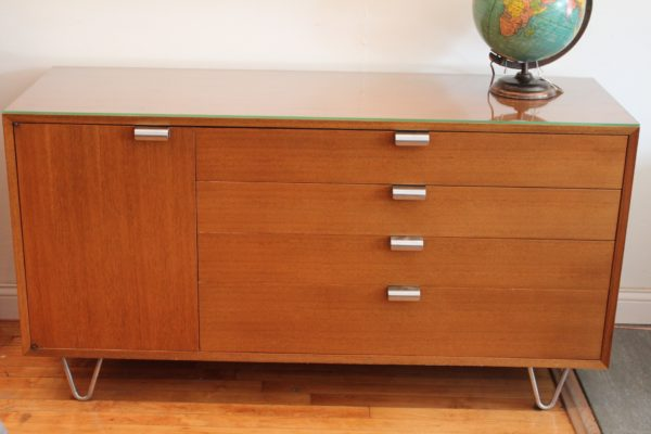 George Nelson for Herman Miller Hairpin Leg Credenza