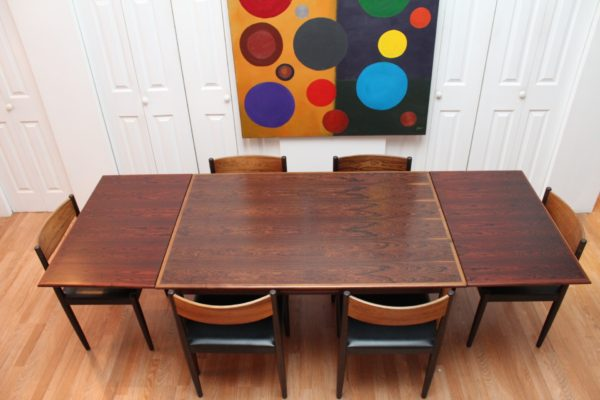 Rosewood Poul Volther Dining Set