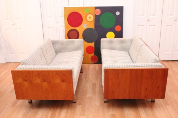 Pair of Jydsk Mobelvaerk TEAK Case Sofas