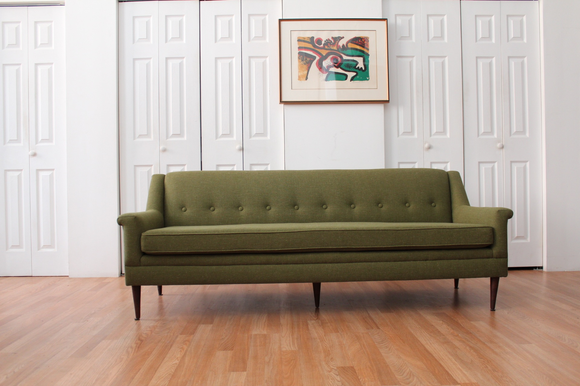 Olive Green Sofa Audrey Olive Green Upholstered Sofa Set