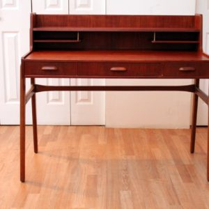 DANISH TEAK WRITING DESK