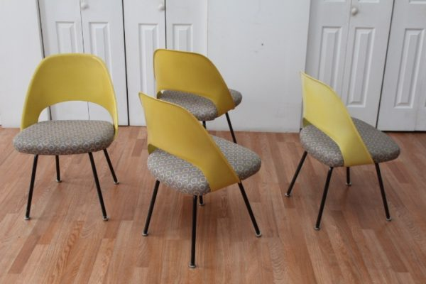 Eero Saarinen for Knoll Armless Chairs