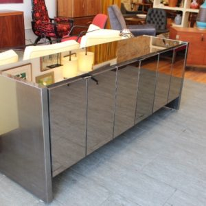 Ello Six Door Mirrored Credenza