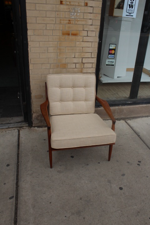 Milo Baughman Lounge Chair Newly Upholstered