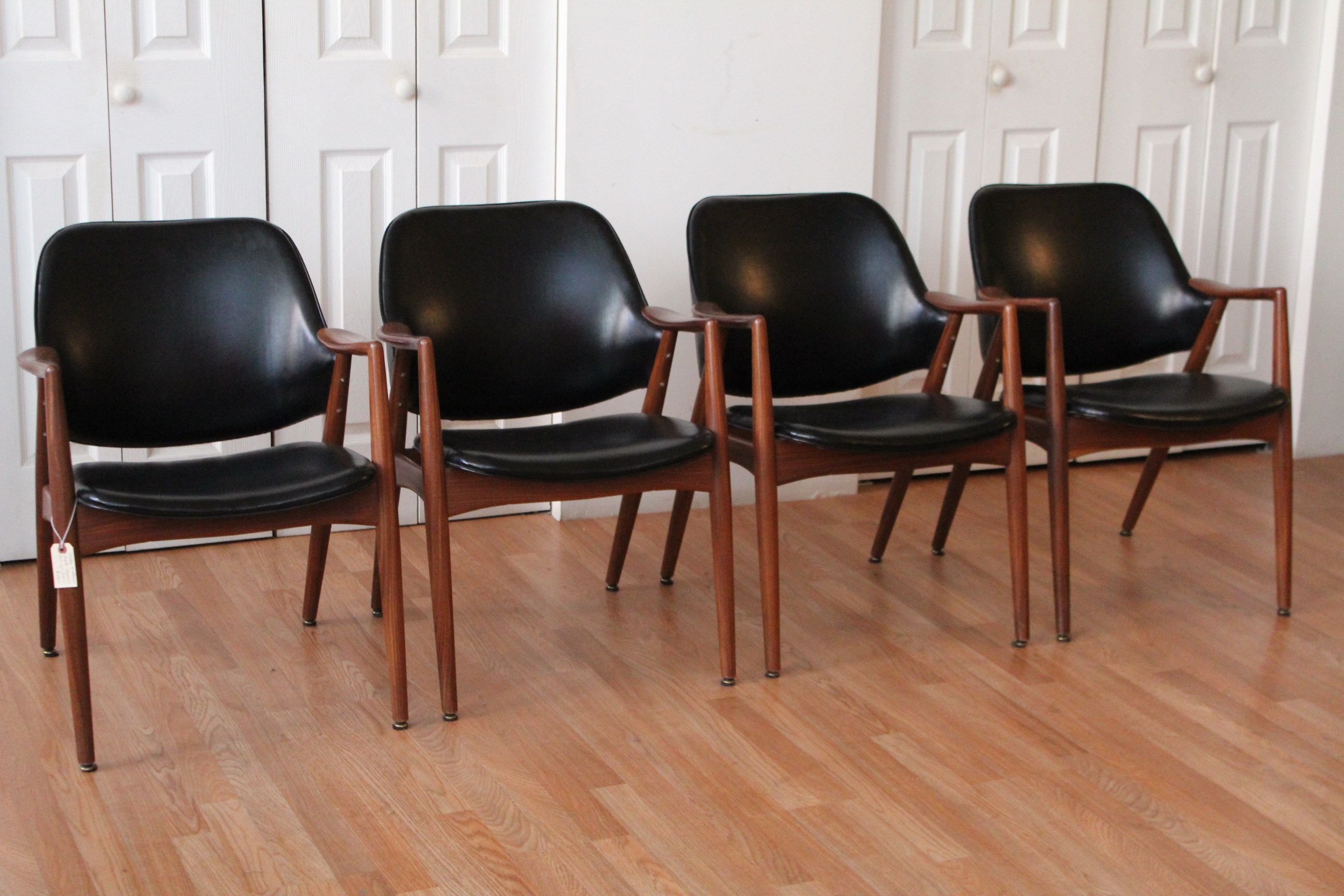Delicieux Shelby Williams Teak Dining Room Chairs