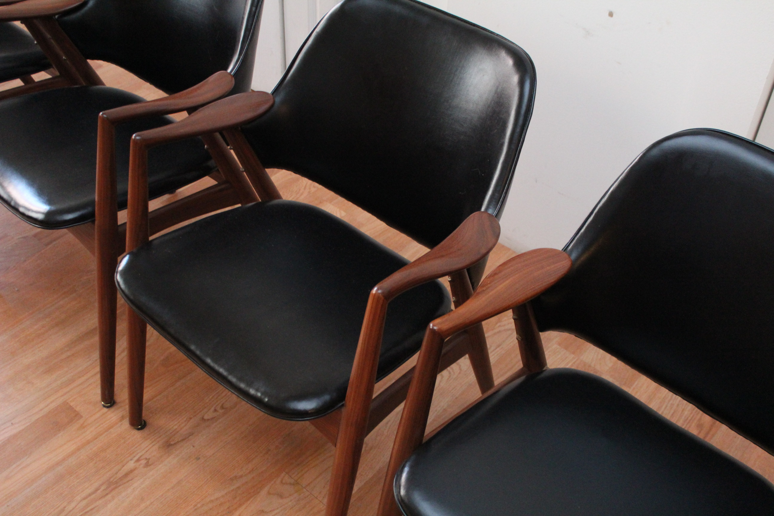 Shelby Williams Teak Dining Room Chairs