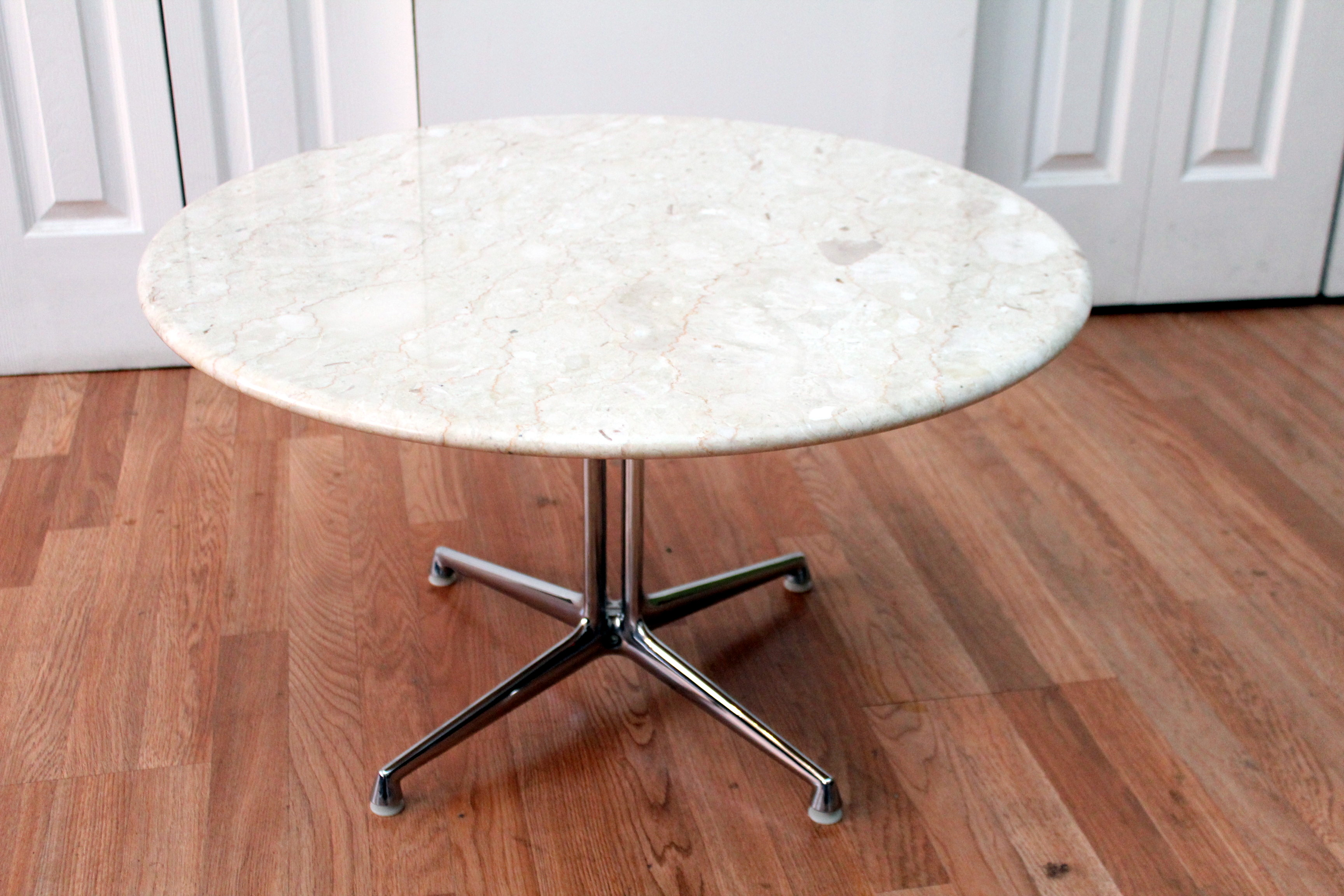 Delicieux Herman Miller Marble Side End Table