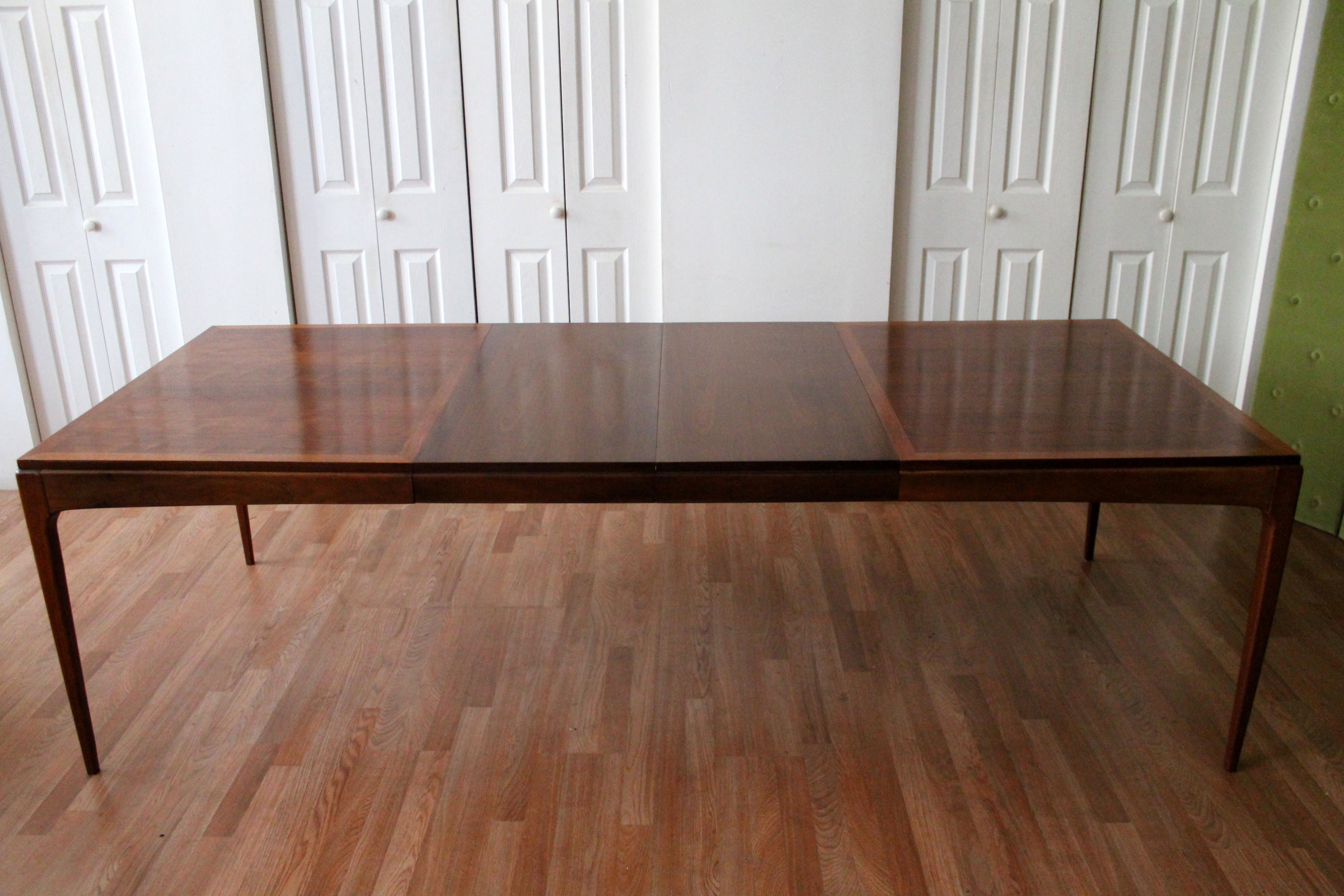 Lane Walnut Dining Room Table ...