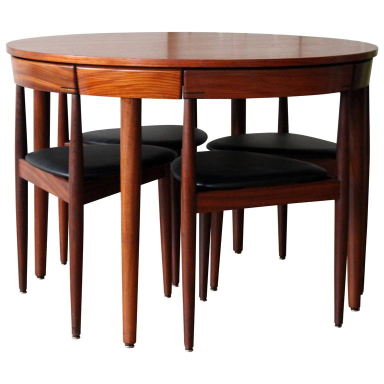 A Hans Olsen For Frem Rojle Denmark Dining Room Set An