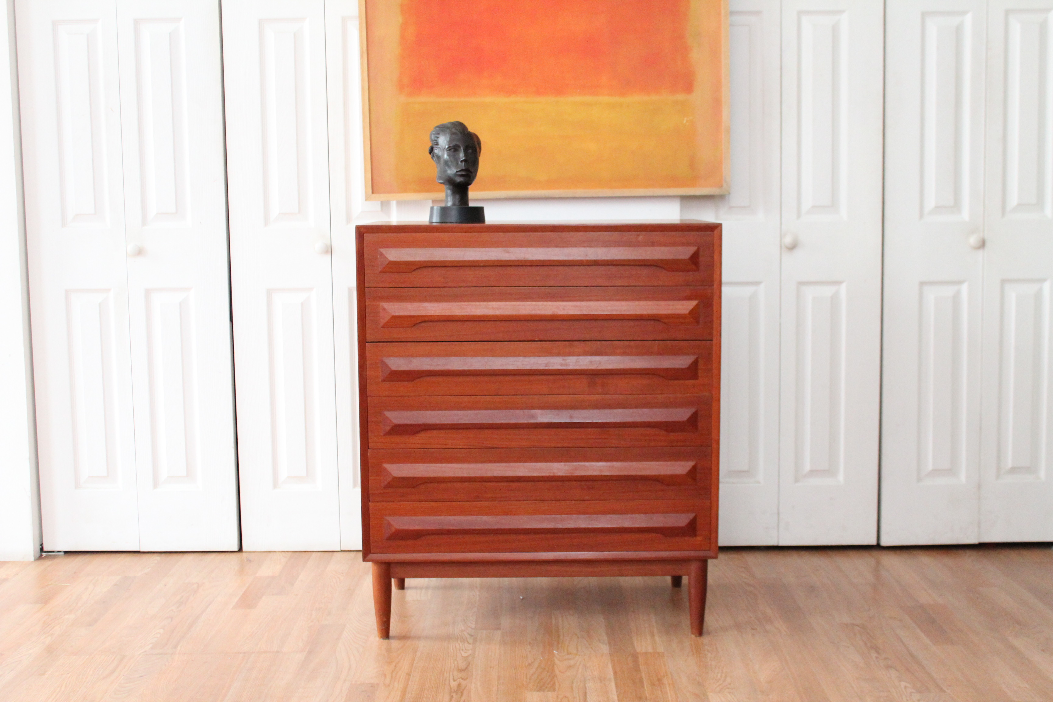 mahogany of drawers c ebay highboy english chippendale on chest pin antique