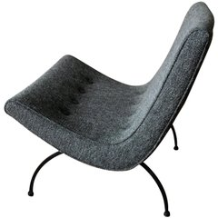 Attractive Milo Baughman Scoop Chair
