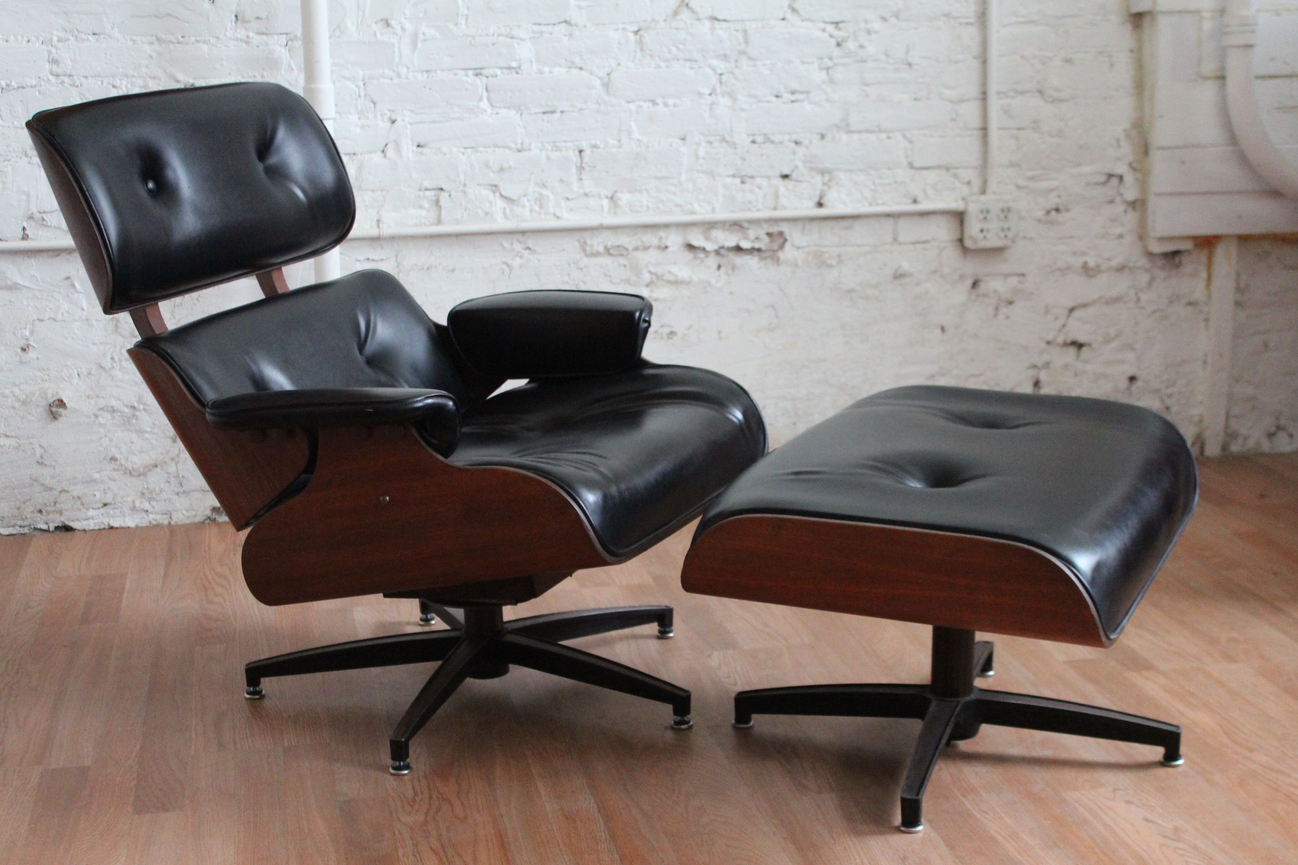 Surprising Mid Century Modern Charlton Lounge Chair And Ottoman An Short Links Chair Design For Home Short Linksinfo