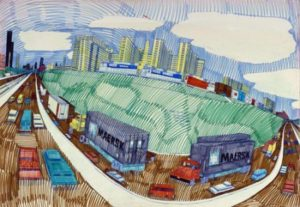 Estate Sale Goddess Presents Wesley Willis: I Art Chicago Sale