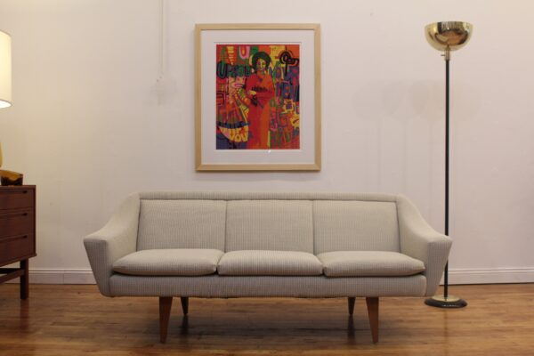 Skarbo Danish Mid Century Modern Sofa Carolyn Mims Lawrence Fine Art