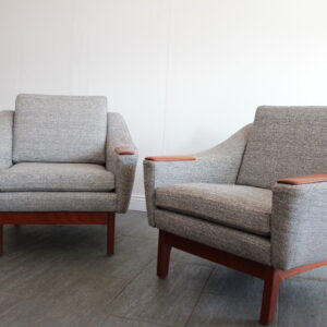 Danish Modern Club Chairs